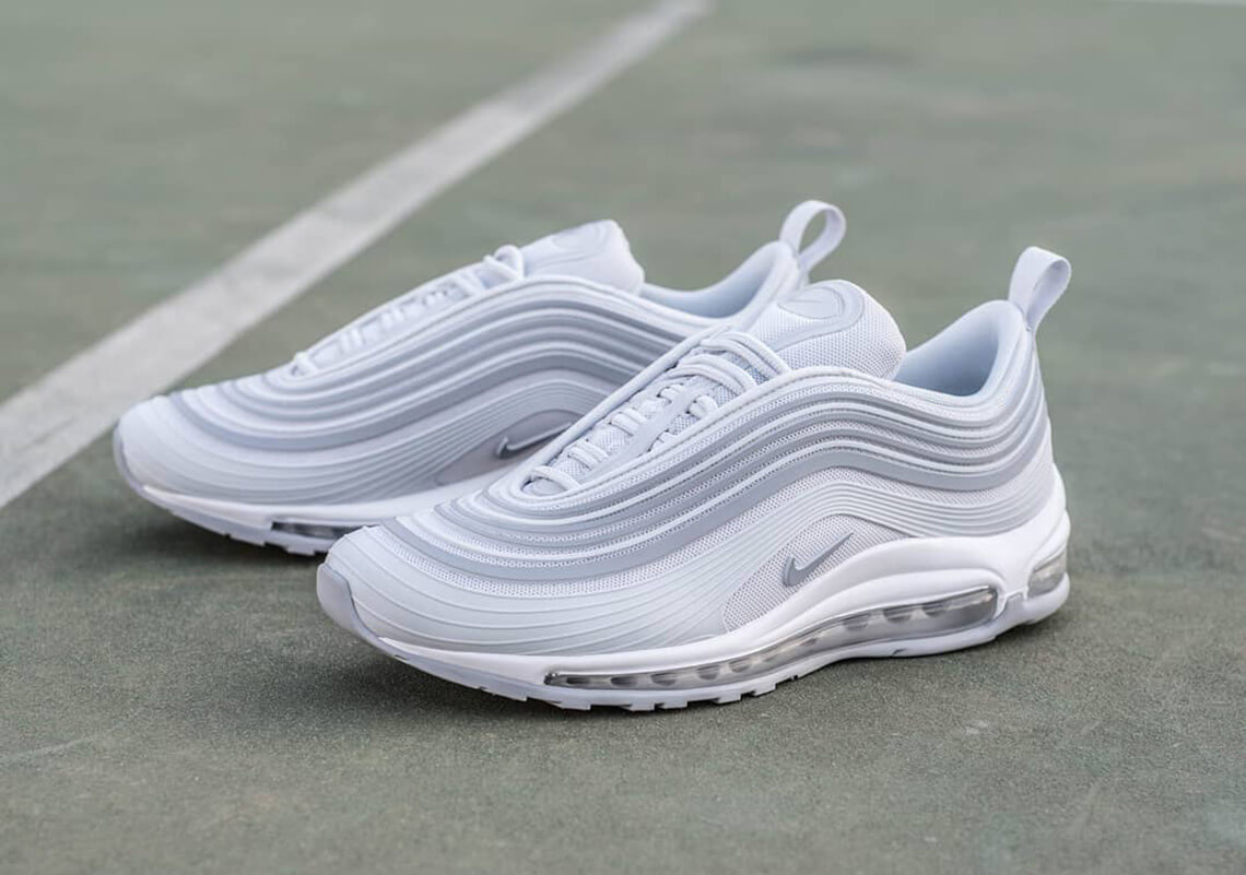 "huge selection of 5fc8d c8912 Nike Air Max 97 Ultra '17 ""Pure Platinum"" is Now Available ..."
