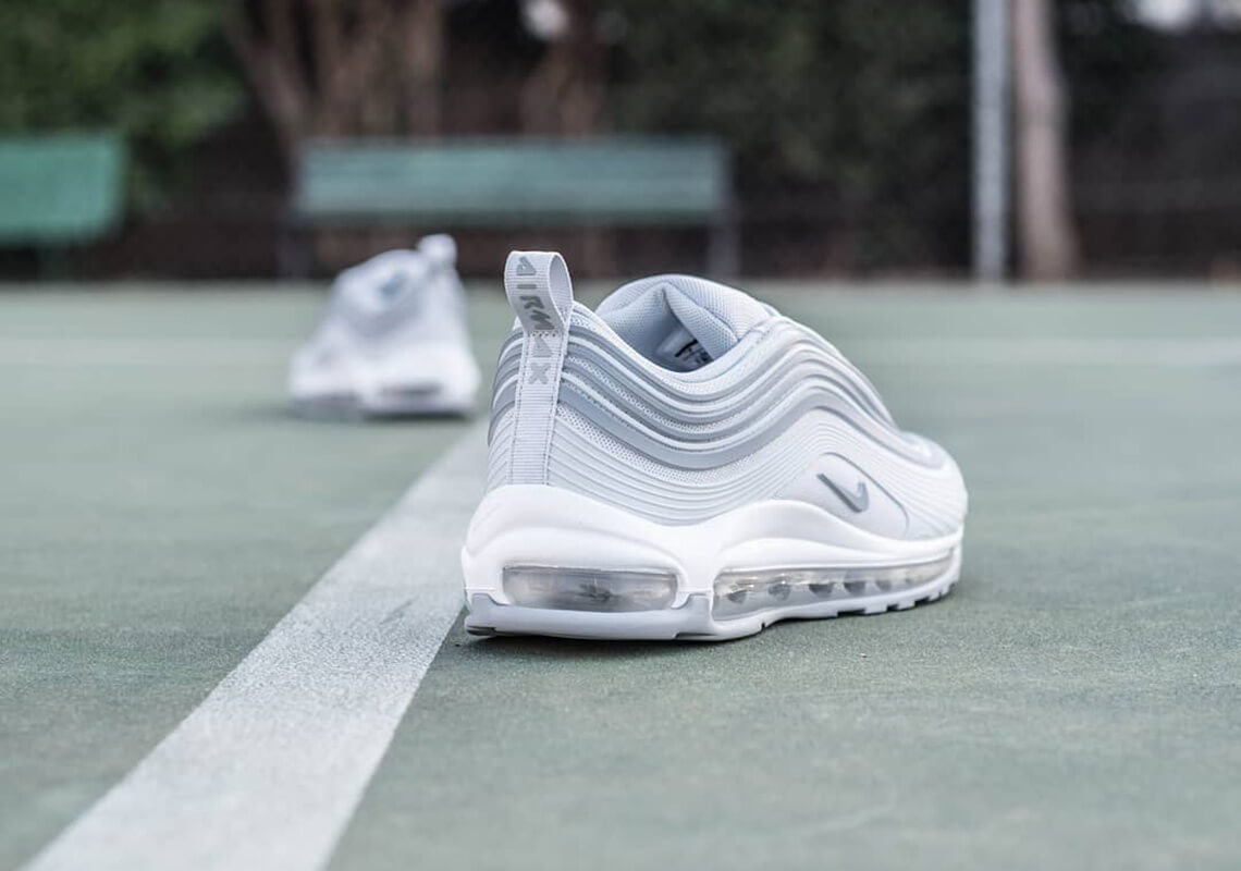 """Nike Air Max 97 Ultra '17 """"Pure Platinum"""" is Now Available"""