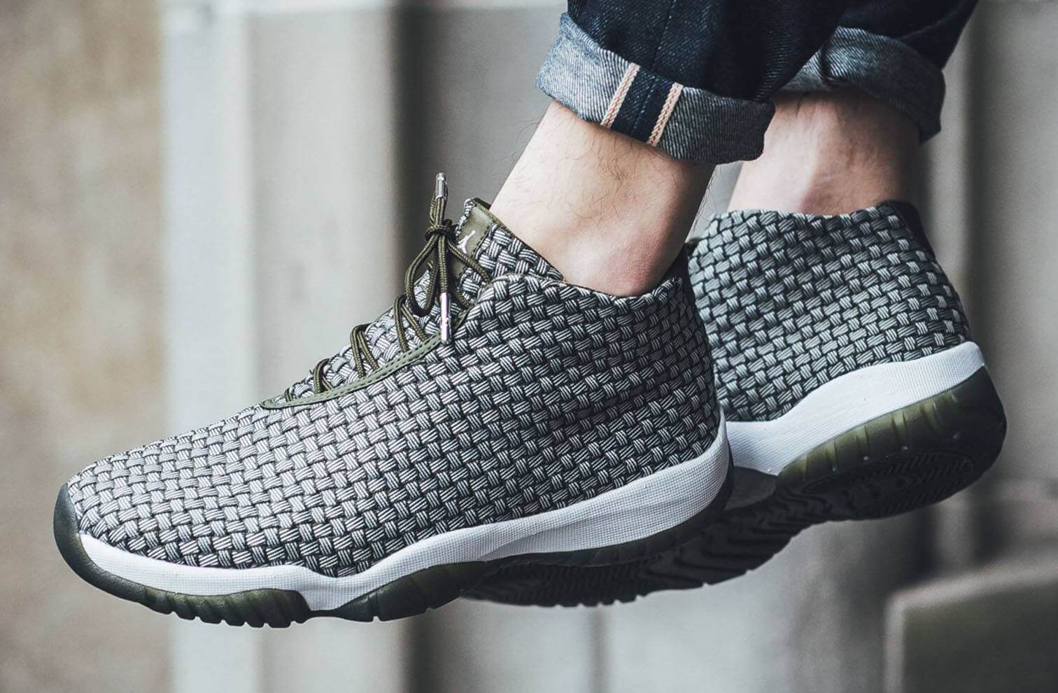 buy online 9c964 8370c The Air Jordan Future Olive Canvas is Now Available ...