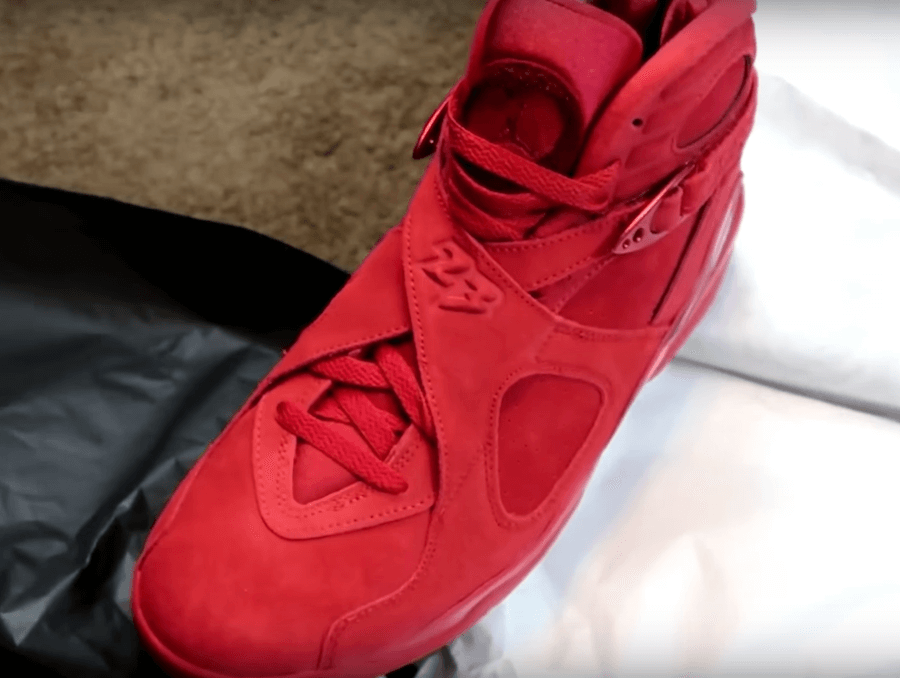 cheaper 0cfc2 e0662 Take a Peek at The Upcoming WMNS Air Jordan 8 Valentine's ...