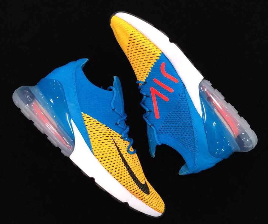 size 40 e6999 391e7 Take a Peek At The Upcoming Nike Air Max 270 Flyknit Blue ...