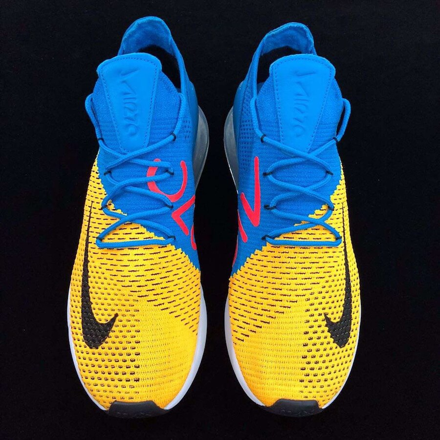 size 40 1c23d 4b58f Take a Peek At The Upcoming Nike Air Max 270 Flyknit Blue ...