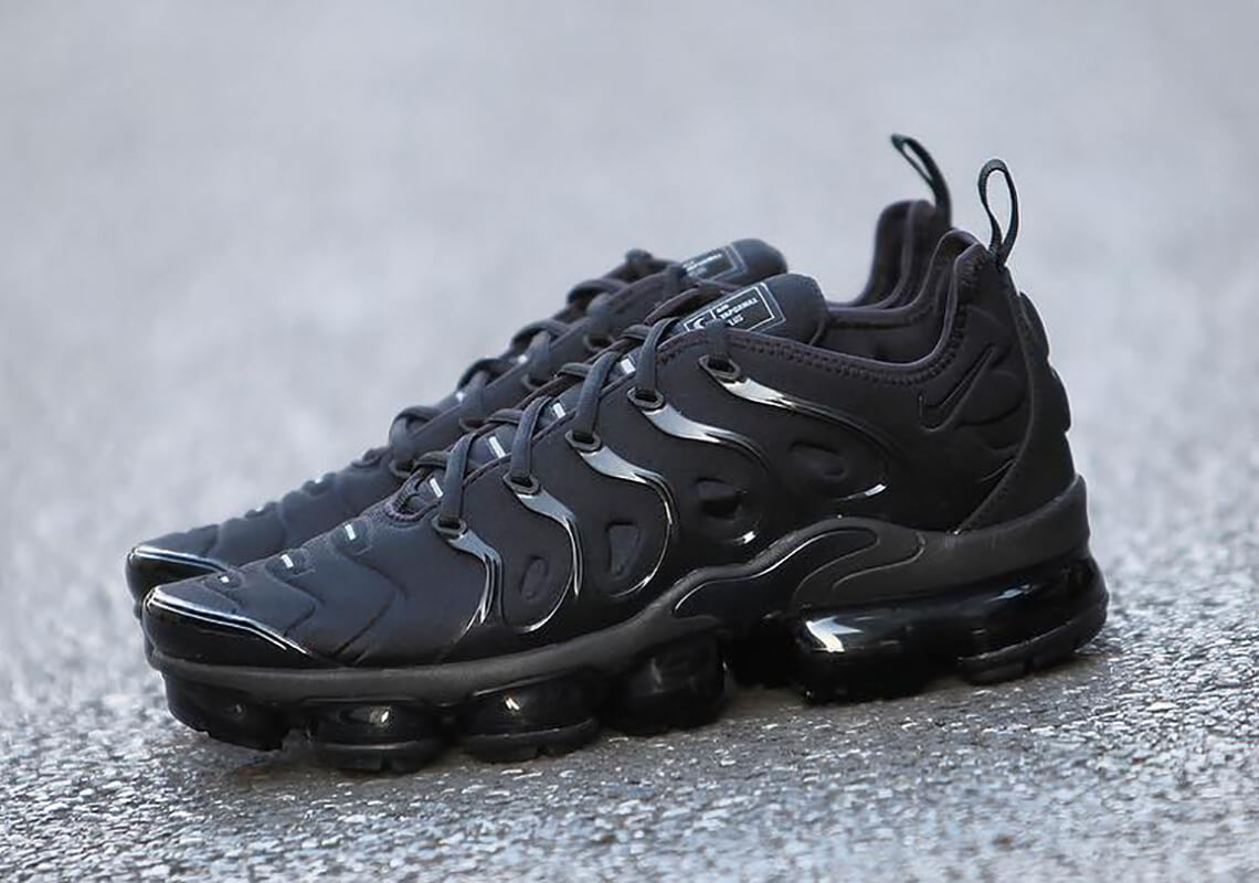 Have A Look At The Nike Air Vapormax Plus Triple Black