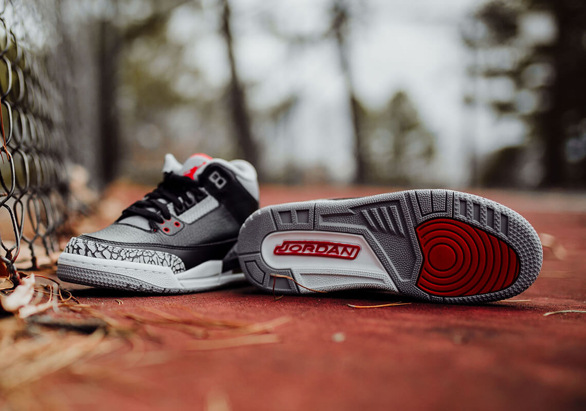 "the best attitude cef75 db245 Air Jordan 3 ""Black/Cement"" Dropping Soon in Full Family ..."