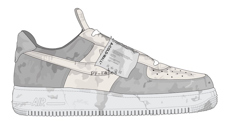 wholesale dealer e1e77 cea18 A Cold Wall* Is Dropping Two Nike Air Force 1 Low In October ...
