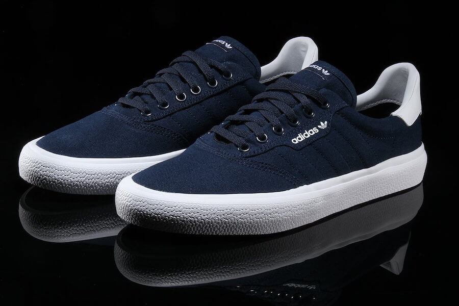 Desanimarse pista más y más  The Adidas 3MC Comes Back In Collegiate Navy - WassupKicks
