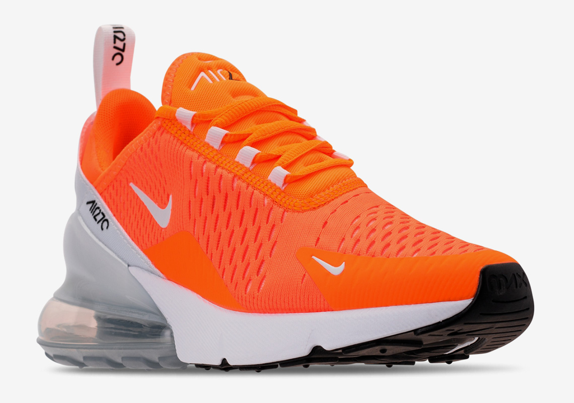 """reputable site 9d894 0fc1e Nike Air Max 270 """"Total Orange"""" Is Dropping Next Month For ..."""