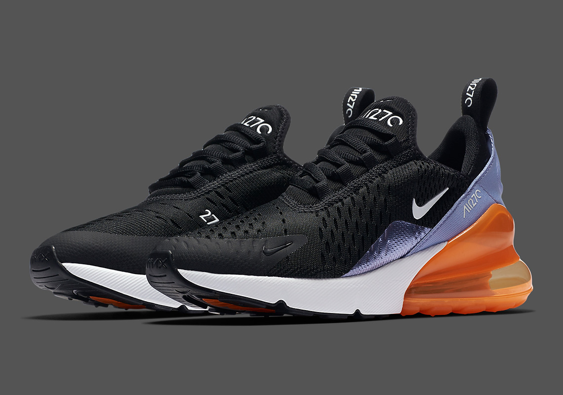 separation shoes 4f6b4 2bfec Look At This Nike Air Max 270 With A New Metallic Foil ...