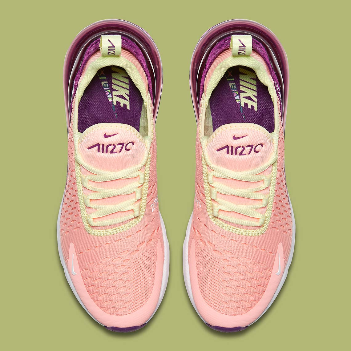 """Nike Air Max 270 """"Pink Tint"""" Is Available Now WassupKicks"""