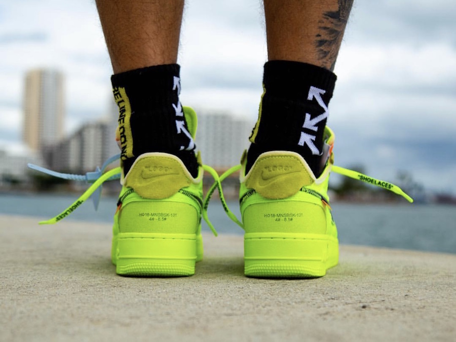 Release Date Off White X Nike Air Force 1 Low Volt Wassupkicks
