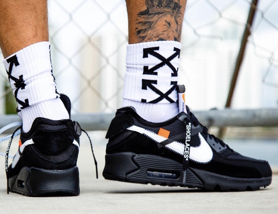 buy online aabc3 ca4e5 Your First Detailed Look At The Off-White X Nike Air Max 90 ...