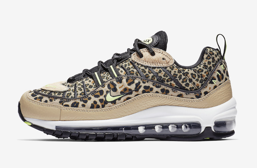 nouveau concept 79022 5e53b Check Out This New Nike Air Max 98 Covered Leopard Print ...