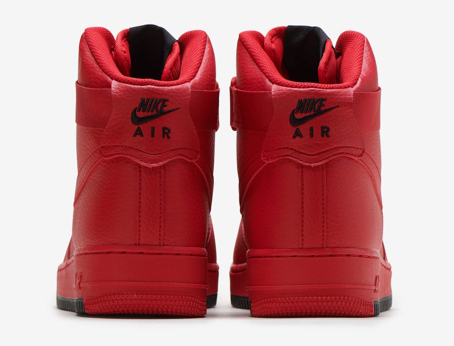 Nike Air Force 1 High Arriving In University Red Wassupkicks