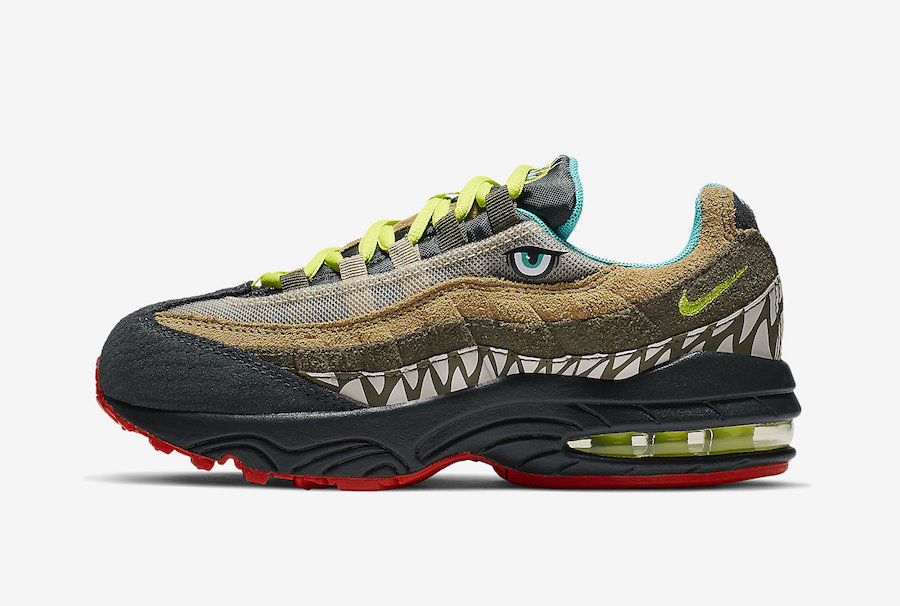 This Dinosaur Inspired Nike Air Max 95 Is Coming For Kids
