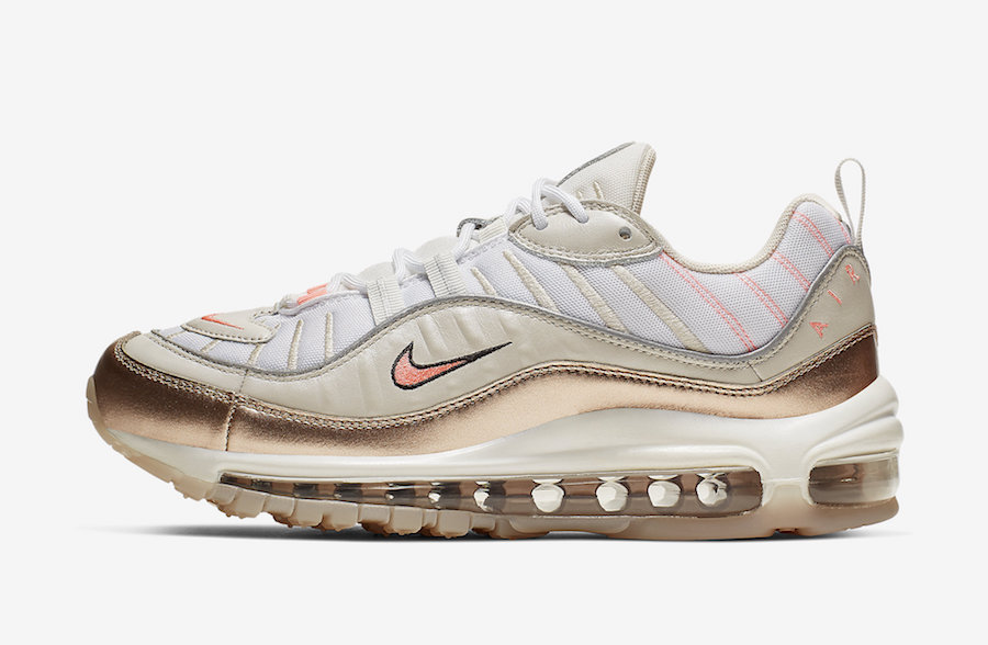 The Nike Air Max 98 Releasing In Rose Gold WassupKicks