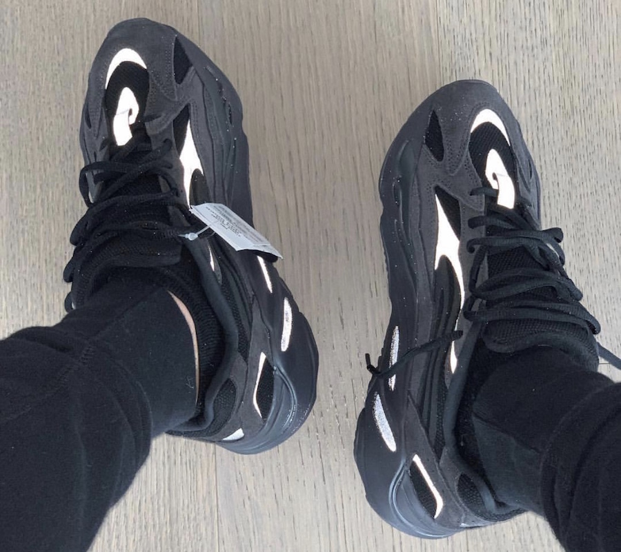 new style 61b60 7f2ee On-Feet Photos Of The Adidas Yeezy Boost 700 V2