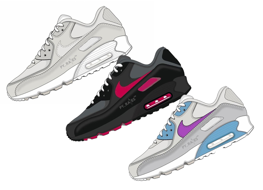 Undefeated X Nike Air Max 90 Collection Dropping Spring 2020